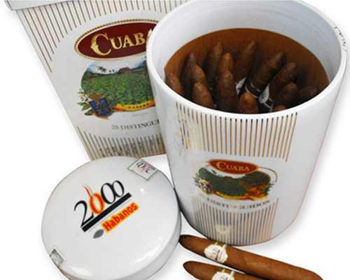 Cuaba Millenium Reserve Ceramic Jar