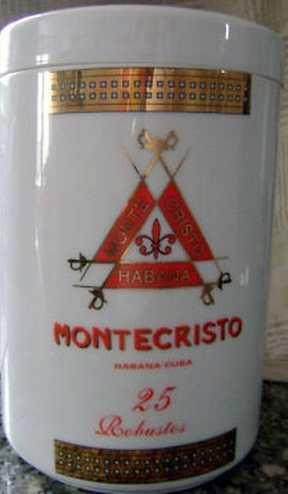 Montecristo Millennium Reserve Ceramic Jar